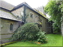 SD4964 : St Wilfrid, Halton: churchyard (7) by Basher Eyre