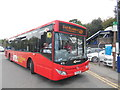 SP8901 : Last Route 48A Bus outside Great Missenden Station (1) by David Hillas