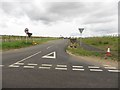 NZ1786 : New connecting road off St Leonard's Lane by Graham Robson