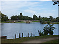TA1231 : East Park:bridge over the lake by Stephen Craven