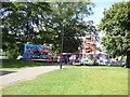 TA1231 : East Park - funfair by Stephen Craven