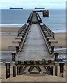 NZ5035 : The disused Steetley Magnesite pier : Week 35