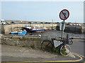 NU2232 : Fishmonger's Bike, Seahouses by Des Blenkinsopp