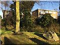 SP2865 : Short blocks of flats, St John's Court, Weston Close, Warwick by Robin Stott