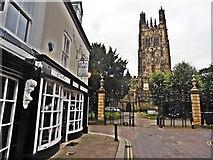 SJ3350 : St Giles Church, Wrexham by Roger Cornfoot