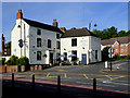 SO8898 : The Swan at Compton, Wolverhampton by Roger  Kidd