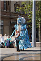 TA0928 : Street entertainer, Queen Victoria Square, Hull by Ian S