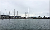 SY6774 : Guest Pier T, Portland Marina by Robin Stott