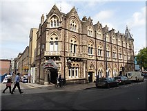 ST1875 : The Great Western Hotel, Cardiff by Roger Cornfoot