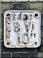 TL5686 : Old Service Valve Sign by Keith Evans