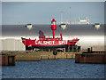 SU4210 : Calshot Spit lightship at Southampton : Week 35