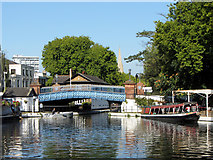 TQ2681 : Grand Union Canal at Little Venice by Gareth James