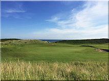 NU2422 : Dunstanburgh Castle Golf Course by John Allan