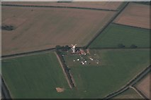 TF7632 : Great Bircham Windmill: aerial 2017 by Chris