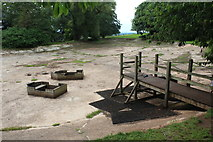 ST5071 : Old boating lake, Tyntesfield by M J Roscoe