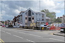 SK5838 : Radcliffe Road: conversion to flats by John Sutton