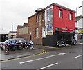 SU1585 : Budget Bikes motorbike shop, Corporation Street, Swindon by Jaggery