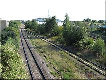 TQ2182 : Railway lines near Old Oak Common by Gareth James