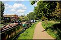 TQ3685 : River Lea Navigation beside Hackney Marsh (1) by Chris Heaton