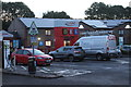 ST4288 : Dawn at Magor Services, M4 by M J Roscoe