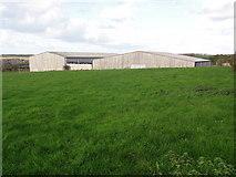 SW9272 : Large Modern Barns by Tony Atkin