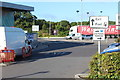 TQ1157 : Way out - Cobham Services, M25 by M J Roscoe