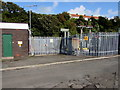 SM9006 : Milford Haven Prime electricity substation by Jaggery