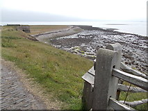 NU1341 : Lindisfarne Castle Point by norman griffin