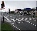 SM8906 : Zebra crossing to Tesco Fuel, Milford Haven by Jaggery