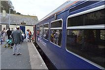 SX2553 : Train at Looe Station by N Chadwick
