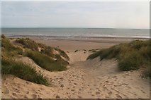TQ9618 : Some serious dunes at Camber Sands by Chris