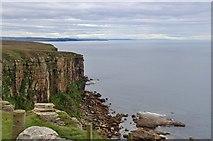ND2076 : Sea cliffs at Dunnet Head by Alan Reid