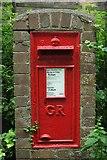 SX9364 : Postbox, Ilsham Road, Torquay by Derek Harper