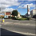 SY6779 : Railway lines crossing King Street, Weymouth by Robin Stott