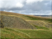 SE0210 : Spoil heaps above the Standedge tunnels by John H Darch