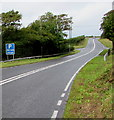 SM9108 : A4076 north of Steynton, Pembrokeshire by Jaggery