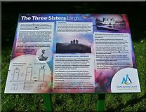 NS2059 : The Three Sisters Information Board by Raibeart MacAoidh