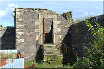 NX4355 : Old Ruin, Wigtown by Billy McCrorie