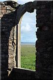 NX4355 : Window in Old Ruin, Wigtown by Billy McCrorie