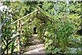 ST0972 : Gourd tunnel, Australasian garden, Dyffryn Gardens by M J Roscoe