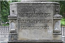 TM1645 : Ipswich Martyr's Memorial- Inscription 3 by Steven Fosdick