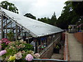 TQ8010 : Alexandra Park Greenhouse by PAUL FARMER