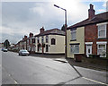 SK4155 : Alfreton: Nottingham Road and The Victoria Inn by John Sutton