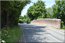 TL5136 : Railway Bridge, Station Rd by N Chadwick