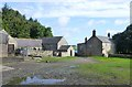 NY9682 : Hawick Farm by Russel Wills