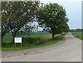TA2220 : Private road to Sands Farm by Mat Fascione