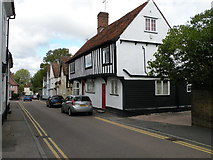 TL5646 : Half-timbered building, High Street by Keith Edkins