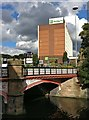 SK5804 : West Bridge crossing the Grand Union Canal, Leicester by Mat Fascione