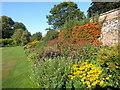 TQ9856 : The walled garden at Belmont House by Marathon