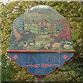 TL5646 : Linton Village Sign by Keith Edkins